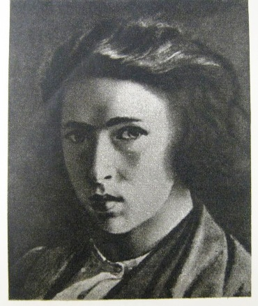 И.Е. Репин. Автопортрет. 1863 г.